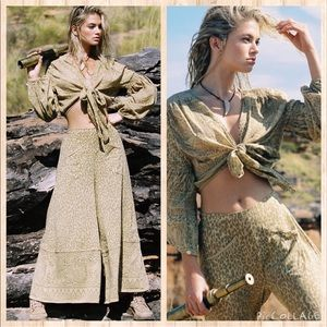 Spell & The Gypsy Wild Thing Top Wide Leg Pants